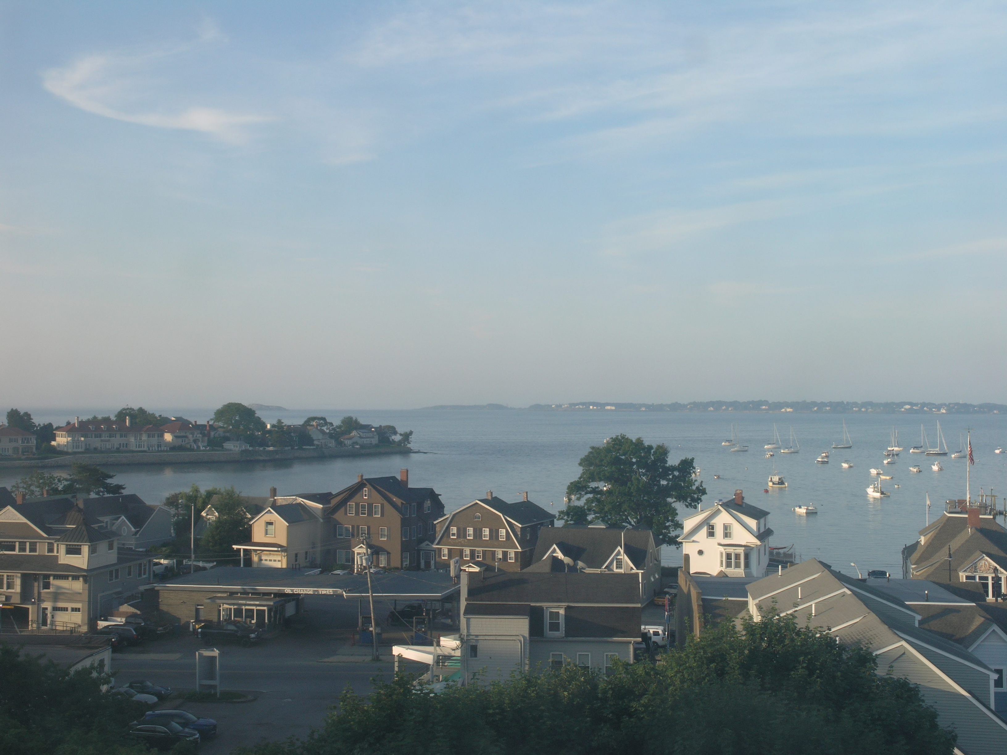 Webcam Boston - Nahant Bay